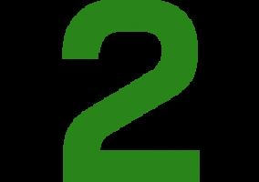 Icon Zahl Zwei - Gebäudeservice Frese, Eichenstr. 14, 59071 Hamm